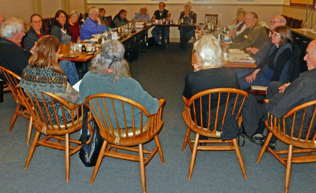 Annual Meeting at the Dynasty Restaurant in Sequim