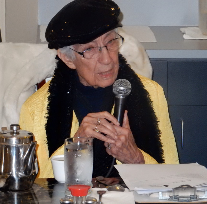 Dr. Eloise Kailin—who founded Protect the Peninsula's Future in 1973.